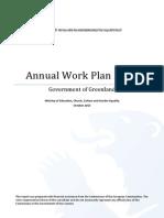 Annual Work Plan 2013
