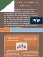 LA TEORÍA DE LA PRÁCTICA EDUCATIVA (ALEJANDRO)