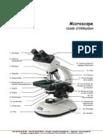 Guide d Utilisation d Un Microscope