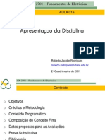 01a+Apresentacao+Da+Disciplina 2011+2
