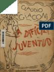 La difícil juventud - Giaconi, Claudio