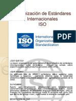 Organización de Estándares Internacionales (1)