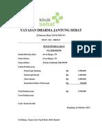Contoh Kwitansi Pembayaran Rumah