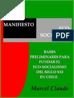 Marcel Claude Manifiesto