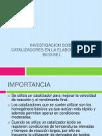 Presentacion de Biodisel