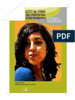 Sobre La No Violencia a Mujeres