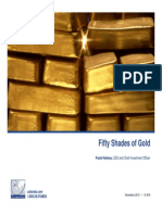 Fifty Shades of Gold
