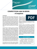 Competition Law in Kenya