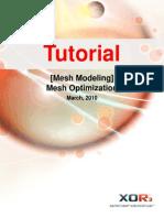 Mesh Modeling Mesh Optimization