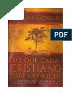 Adrian Rogers - Lo Que Cada Cristiano Debe Conocer