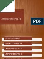 Presentacion Amplificadores c,d,e
