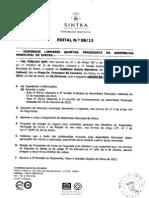 Ordem do Dia da Assembleia Municipal de Sintra de 28 de Novembro de 2013
