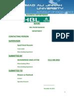 HBL Phone Banking Optimization