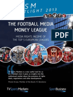 TV Sports Markets - Football Media Money League