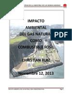 Impacto Ambiental Del GNL