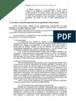 concepto y desarrollo organizaciones internacionales