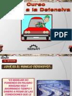 Curso Manejo Defensivo Vehiculos Automoviles