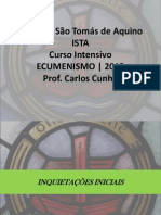 Curso Sobre Ecumenismo 2013