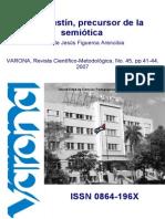 San Agustin y La Semiotica