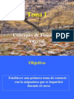 Tema 1-Introduccion a La Fisiologia Vegetal1