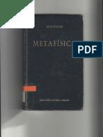 Aristóteles - Metafísica (Gredos)