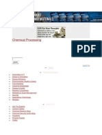 Chemical Processing