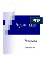 Modelo de Regresion Miltiple