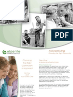 Assisted Living Choosing the Right Community