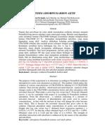 Isoterm Adsorpsi Karbon Aktif