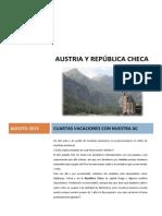 Relato del Viaje en Autocaravana por Austria y la República Checa