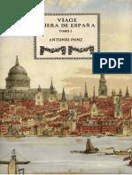 (1791...) Antonio Ponz - Viage fuera de España. Tomo 1