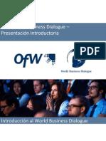17th World Business Dialogue - Informacion