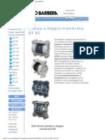 Savino Barbera, Pompe Pneumatiche a Doppia Membrana BX 80