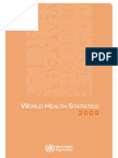 Who World Health Statistics 2009