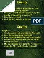 Unit 10 - Quality & Revision
