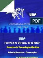 Octava Novena Clase Gestion UAP