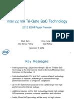 Intel 22nm SoC Briefing