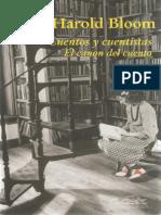 Bloom, Harold - Cuentos y Cuentistas. El Canon Del Cuento