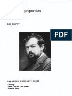 Debussy in Proportion a Musical Analysis