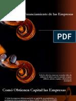 Financiamiento de Las Empresas - Economia