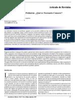 Anestesia Regional en Pediatría