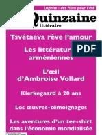 Quinzaine littéraire 950