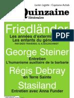 Quinzaine littéraire 964