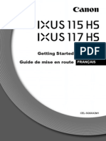 IXUS 115HS 117HS Getting Started Guide