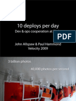 10+ Deploys Per Day_ Dev and Ops Cooperation at Flickr Presentation