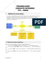 Technologie Des Circuits Integres