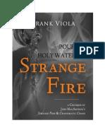 Strange Fire Macarthur Viola
