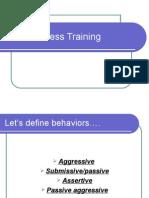 Assertiveness Ppt ForLevel2