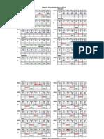 2013 Philracom Race Calendar