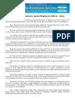 nov25.2013Family code discriminates against illegitimate children - solons